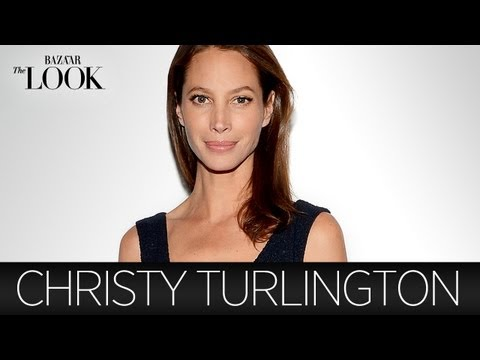 Christy Turlington on Calvin Klein, the  80s & Her Style | Harper's Bazaar The Look