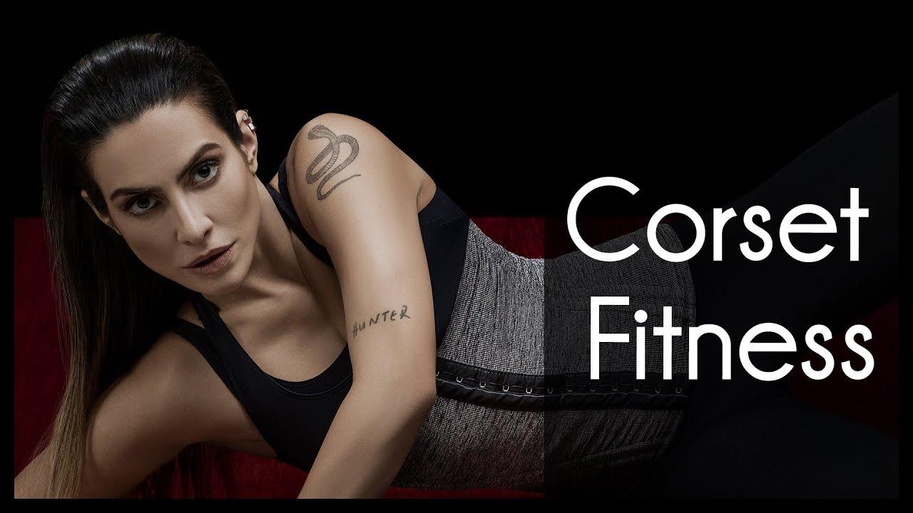 bf30244d9dcfbf Campanha Plié 2016 - Cleo Pires usa Corset Fitness