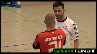 FC Liria gegen Hertha BSC (Futsal) – Spielbericht mit Interviews