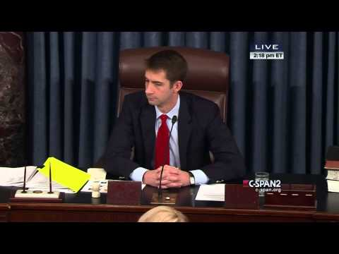 Disturbance in Senate (C-SPAN)