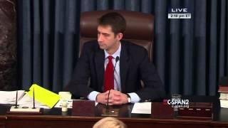 Disturbance in Senate (C-SPAN)