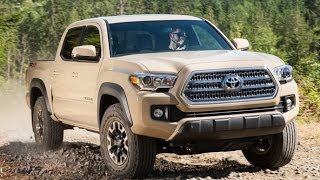 2016 Toyota Tacoma Start Up and Review 3.5 L V6