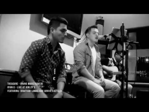 Treasure (cover) LIVE performance at Kinleys- Ryan G.