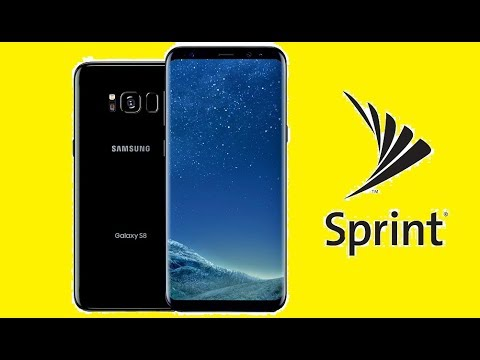 SIM Unlock Sprint Samsung Galaxy S8 / Plus / S8+ For Use On Other Carriers!