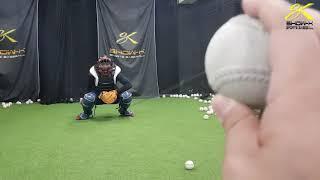 쇼케이 스포츠 베이스볼 포수 블로킹 연습