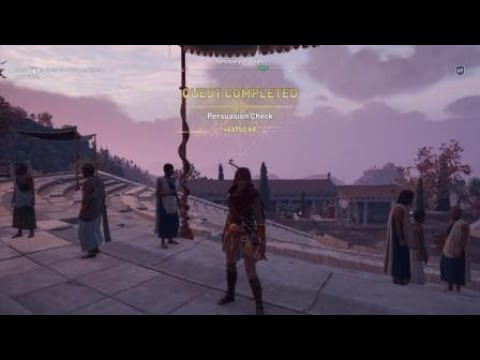 Assassin's Creed® Odyssey Persuasion Check |