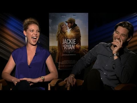 JACKIE & RYAN : Katherine Heigl and Ben Barnes can't stop laughing