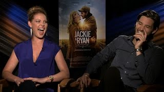 JACKIE & RYAN Interview: Katherine Heigl and Ben Barnes (can't stop laughing)