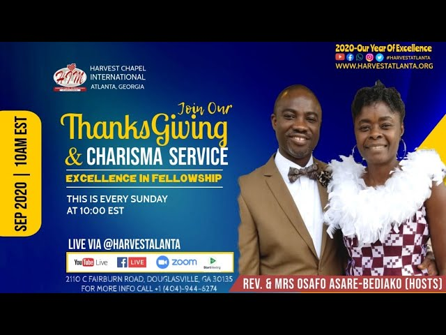 Thanksgiving and Charisma Service || 09-27-2020