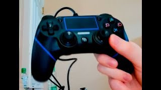 PS4 Wired Controller Unboxing/Review