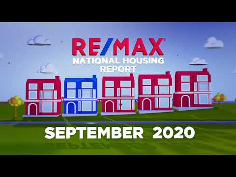RE/MAX National Housing Report September 2020