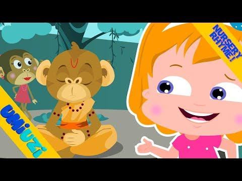 Umi Uzi | monkey business | nursery rhymes songs for children