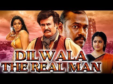 Dilwala The Real Man (Kuselan) Hindi Dubbed Full Movie | Rajinikanth, Pasupathy, Meena