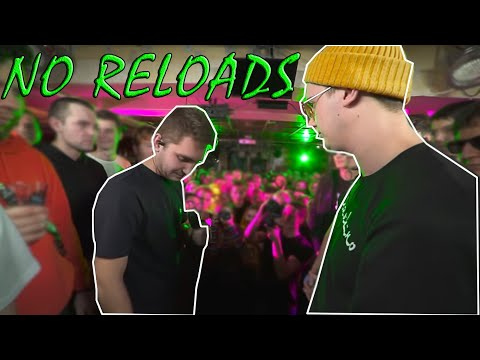 NO RELOADS | SLOVO BACK 2 BEAT: КУКИШ С ХАСЛОМ Vs V.V. (BAD BARS)