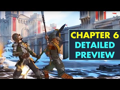 Shadow Fight 3. Chapter 6 Detailed Breakdown. New Weapons, New Locations, New Armor. Trailer Review.