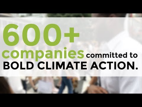 600+ companies commit to action - Climate Week NYC