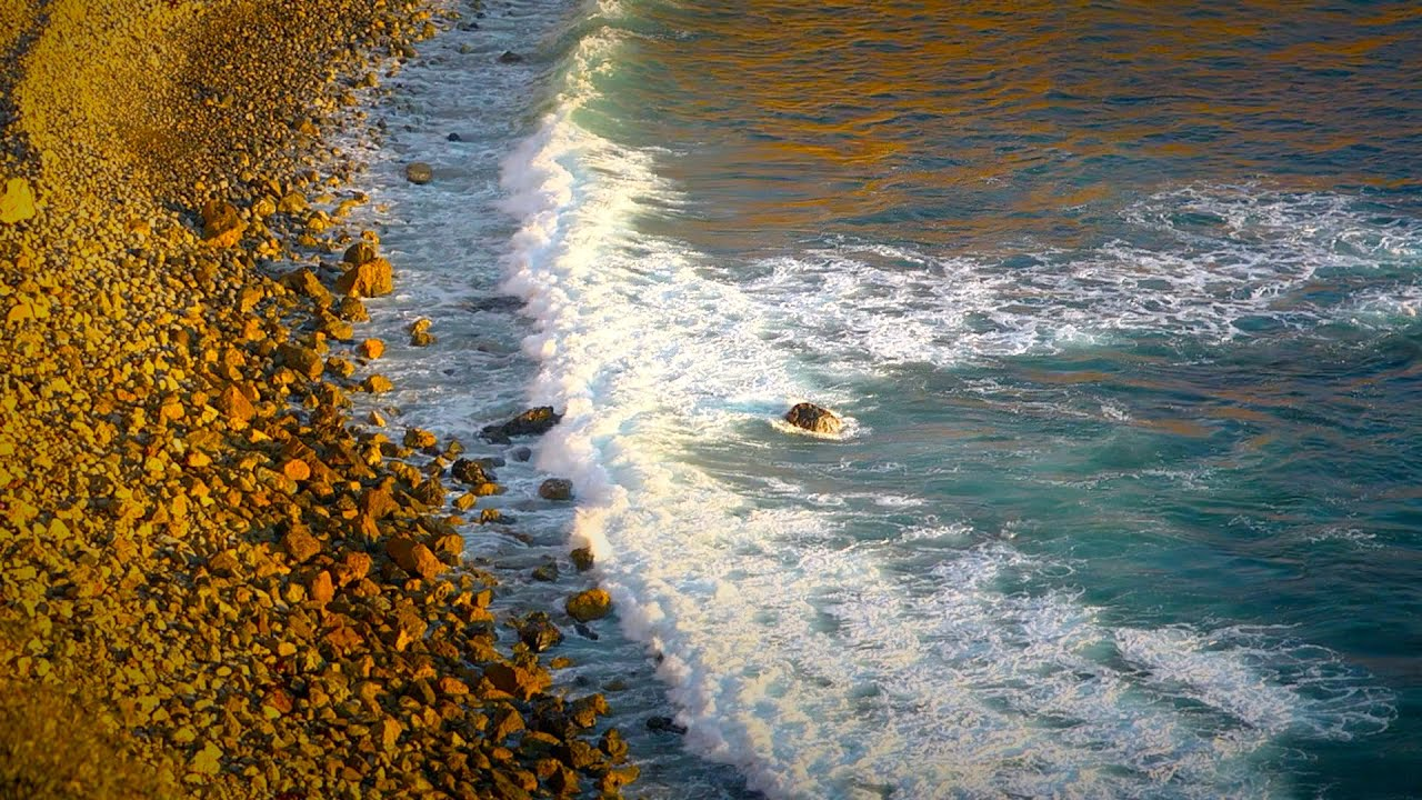 Calming Ocean Waves White Noise Sleep Study Focus 10
