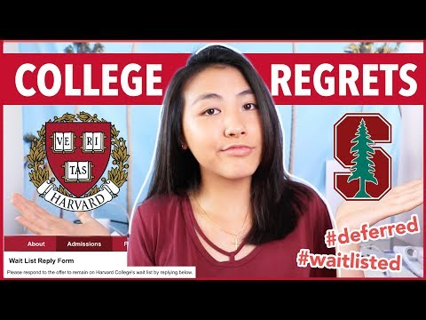 College application love letter