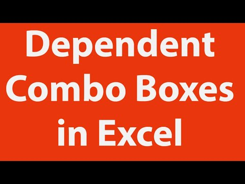 Creating Dependent Combo Boxes in Excel User Form with VBA