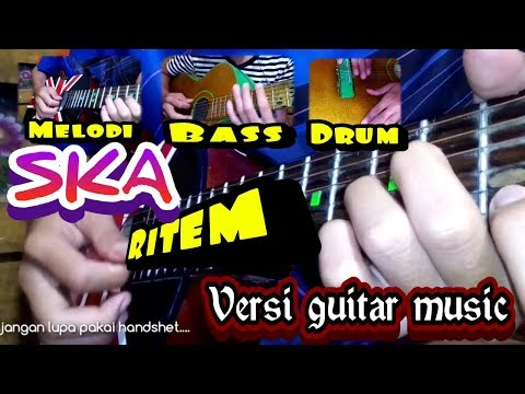 [SKA Guitar] Nella Kharisma - Indah Pada Waktunya  !!!! keren bangat