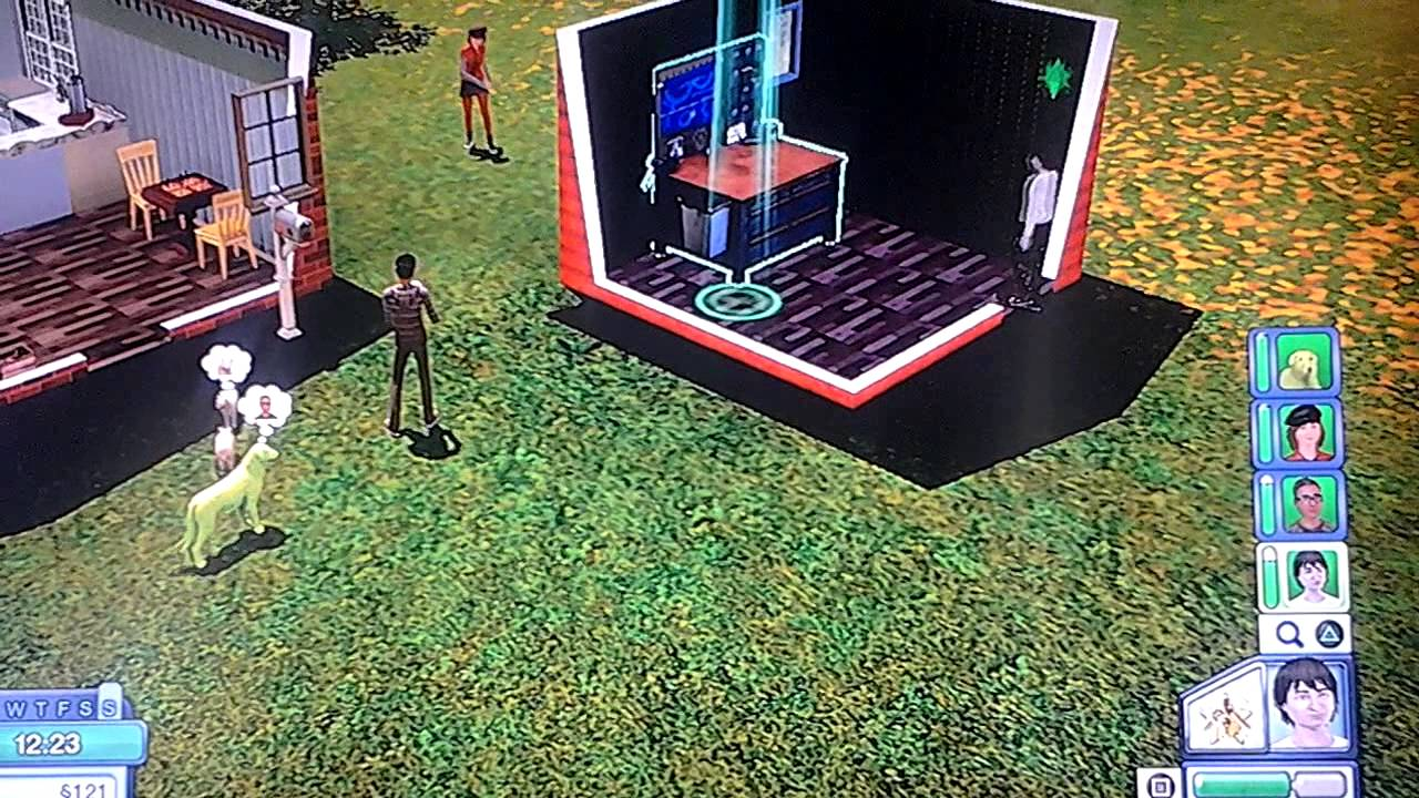 How to make a simbot sims 3