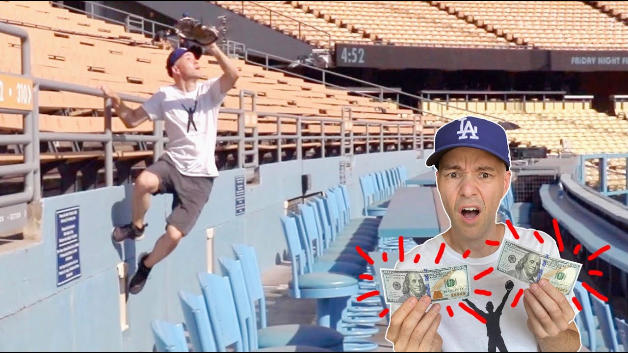 WILD DAY in the brand new HOME RUN SEATS at Dodger Stadium