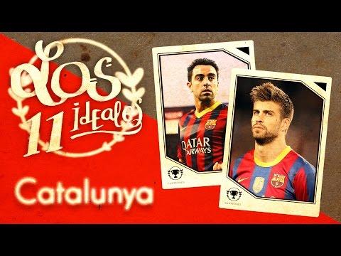¿Cómo sería la selección de fútbol de Catalunya? - 11 ideal