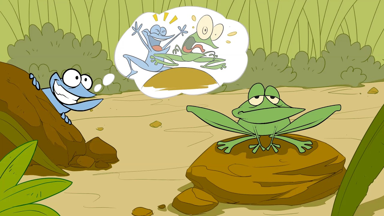 The Frog cartoon Animation - YouTube
