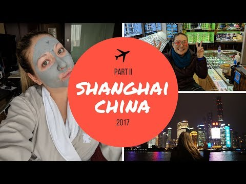 SHANGHAI CHINA VLOG: PART II | THE FLUINS | TWO BOOS