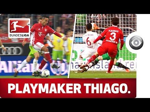 Thiago Alcántara - FC Bayern's Midfield Maestro