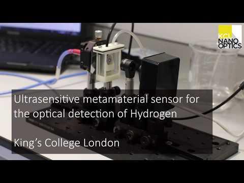 Metamaterial-based hydrogen sensor - King's College London Photonics & Nanotechnology Group