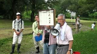 平成24年7月15日(日)笠松町トンボ天国にある、トンボ池親子探検隊の様...