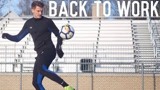 Getting Back To Work | Training Session and Goal Setting For 2019
