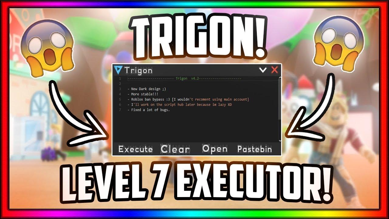 Level 7 Executor Roblox New Op Level 7 Executor Games Loadstrings Full Lua Trigon Youtube