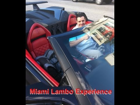 Miami Trip Rental of Lamborghini Murcielago LP640 | Super Loud Exhaust | South Beach Florida