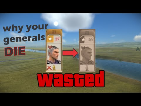 THIS BUG IS KILLING YOUR GENERALS   Total War: Rome Remastered  