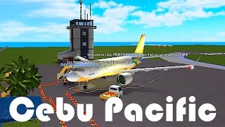 ROBLOX - France Vol Cebu Pacific Air A319-NEO