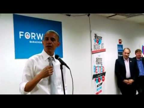 Barack Obama Cries:President Obama Tears Up During Speech Thanking Campaign Staff (Video)