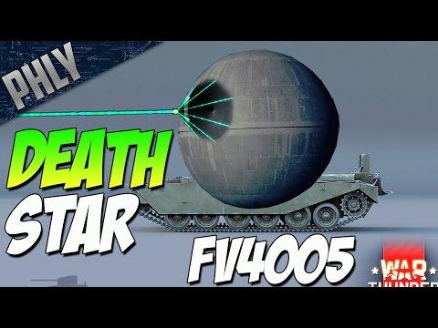 BRITISH DEATHSTAR - FV4005 183MM Cannon Gameplay  (War Thunder Dev 1.67)