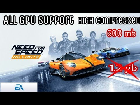 Need For Speed No Limits High Compressed For All device Mali Aderno Power Vr Gpu