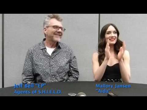 Wondercon 2017:  Marvel's Agents of SHIELD: Jeff Bell & Mallory Jansen