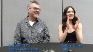 "Marvel's Agents of SHIELD: Jeff Bell & Mallory Jansen ""Aida"" at WonderCon 2017"