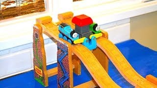 Thomas The Tank Engine & Friends - Start Your Engines Race Set - Wooden Toy Railway - Track Chat
