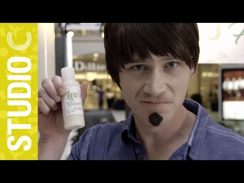 Crazy Mall Kiosk Salesman