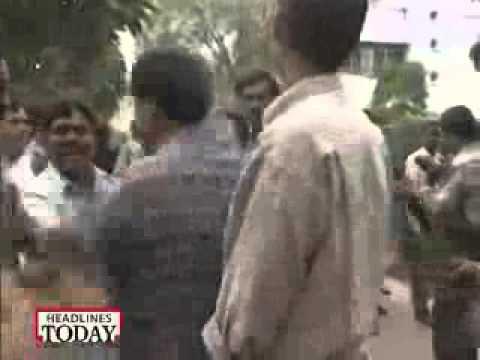 Ashutosh slapped by Kanshiram