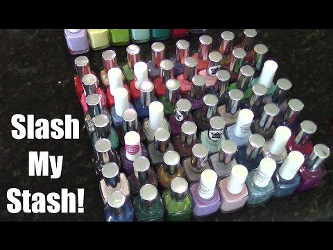 Slash My Stash | Nail Polish Destash Pt. 1 | Pure Ice