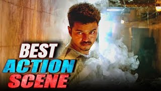 Vijay's Best Action Scene From Movie Indian Soldier Never On Holiday (Thuppakki)
