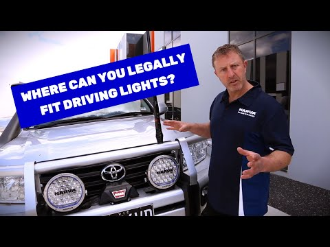 Driving Lights Legality In Victoria