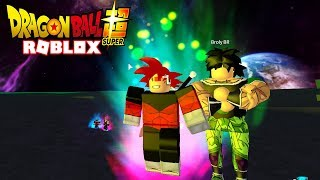 MY FIRST FIGHT AGAINST BROLY! - Roblox Dragon Ball Z Final Stand