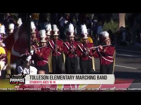 Tolleson Elementary School Marching band